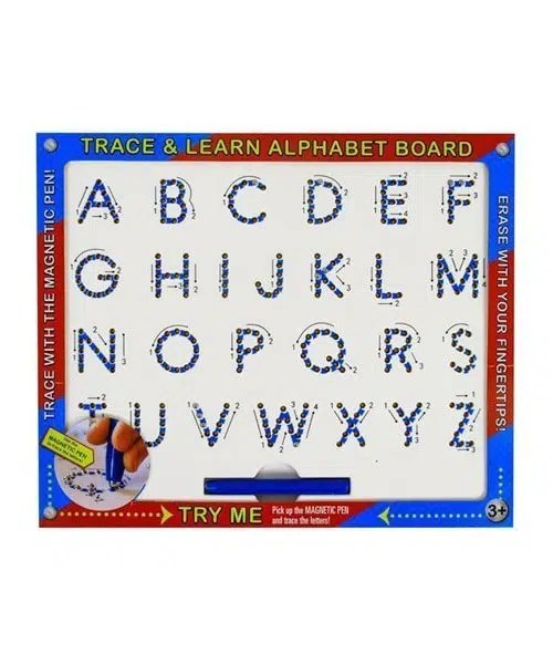 Trace And Learn - Magnetic Alphabet Board