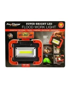 Super-Bright LED Flood Work Light - Pro Charge Power