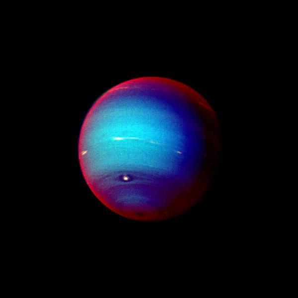 Space Images Neptune False Color Image of Haze