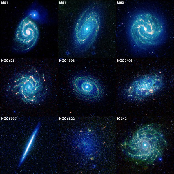 Space Images | The Galaxy Menagerie from WISE