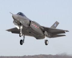 L'avion de chasse F35