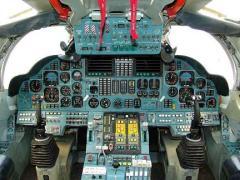 Tu-160 cockpit