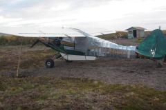 avion réparé avec du duct tape