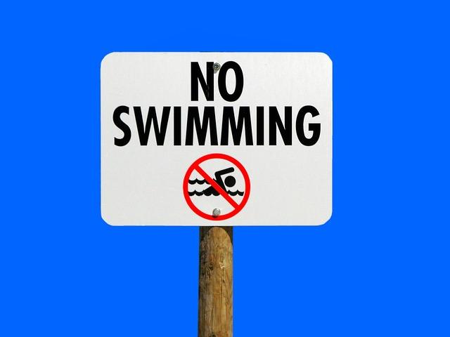 no-swimming