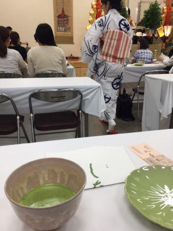 一人でも行ける 京都・祇園祭 本日まで、菊水鉾でお茶席 2016