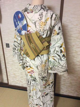 京都 祇園祭 宵山・宵々山にはゆかたで 帯結びアレンジ