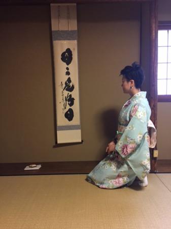 京都の思い出に。海外留学準備に。茶道・いけばな個別レッスン