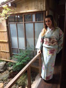 京都で茶道体験 イラクより