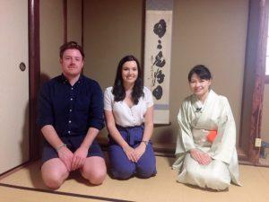 ITV tea ceremony