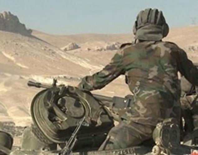 الجيش السوري يسيطر على تلة السيريتل المشرفة على مدينة تدمر و«داعش» يستخدم الأسلحة الكيميائية