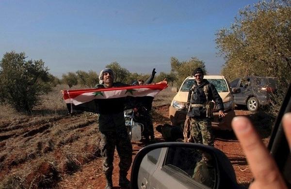 الجيش السوري يحكم السيطرة على مزارع الملاح الشمالية بريف حلب