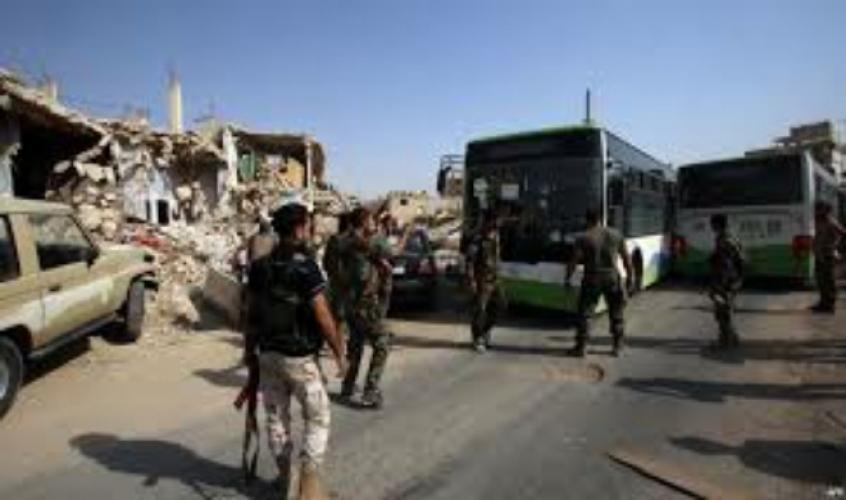 داريا خالية من الإرهاب