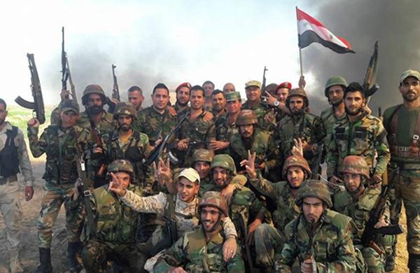 الجيش السوري يسيطر على حي الفرافرة شمال غرب قلعة حلب