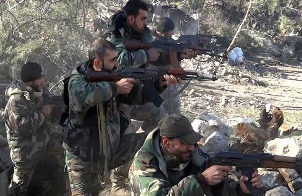 الجيش السوري داخل خان الشيح