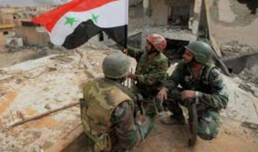 الجيش يثبت نقاطه .. ويحضر لدخول عين الفيجة في ريف دمشق