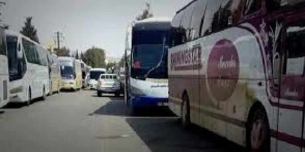 خروج 45 حافلة تقل اهالي الفوعة وكفريا اليوم مقابل 11 حافلة من الزبدني