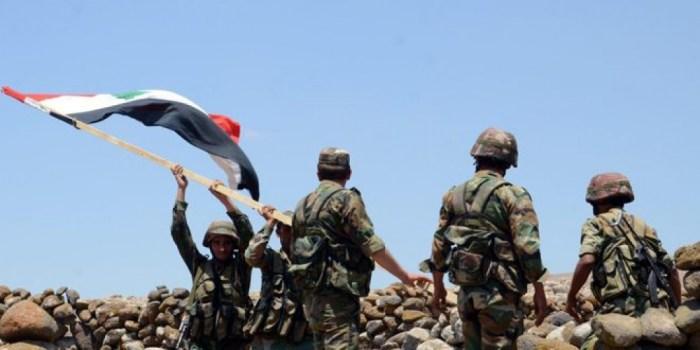 تدمير أوكار ودشم رشاشات للارهابيين والقضاء على اعداد منهم في درعا وريف حمص