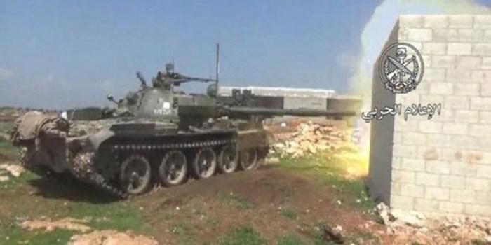 """توسيع نطاق العمليات العسكرية على مقرات وخطوط إمداد ارهابيي """"النصرة"""" بريفي حماة وإدلب"""