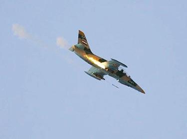 سلاح الجو السوري يدمر معسكر تدريب للإرهابيين في ريف اللاذقية