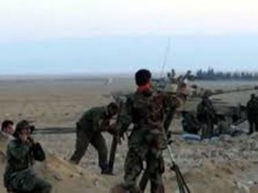 الجيش يحكم السيطرة على قصر الحير الغربي وبير المر بريف حمص وعلى قرية خربة الناقوس بريف حماة