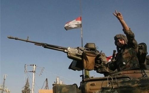 الجيش يعلن السيطرة بشكل كامل على بلدة