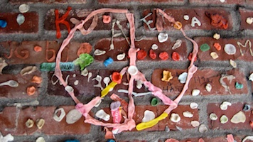 Peace out from the Gum Wall