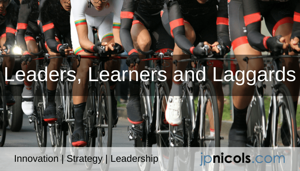 Leaders, Learners and Laggards