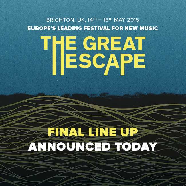 The Great Escape_ Final Line up Announcenment