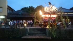 佐原の大祭夏祭り