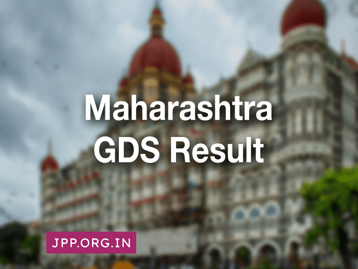 Maharashtra GDS Merit List and Result