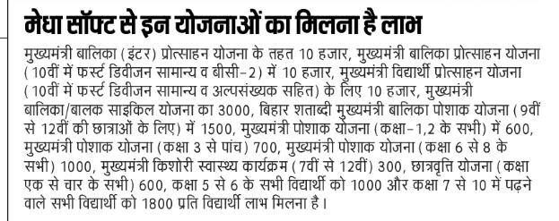 Medha Soft Bihar School Login