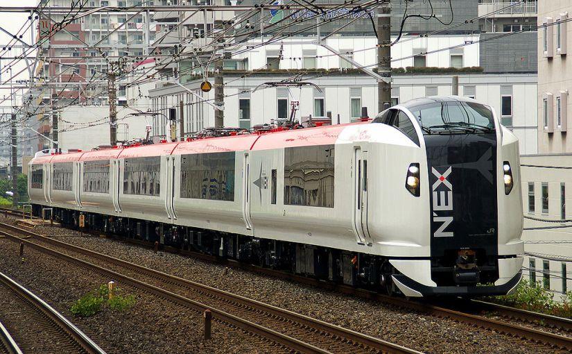 Narita Express, JR's express train service between Narita airport and Tokyo, Shinjuku, Shinagawa, Yokohama