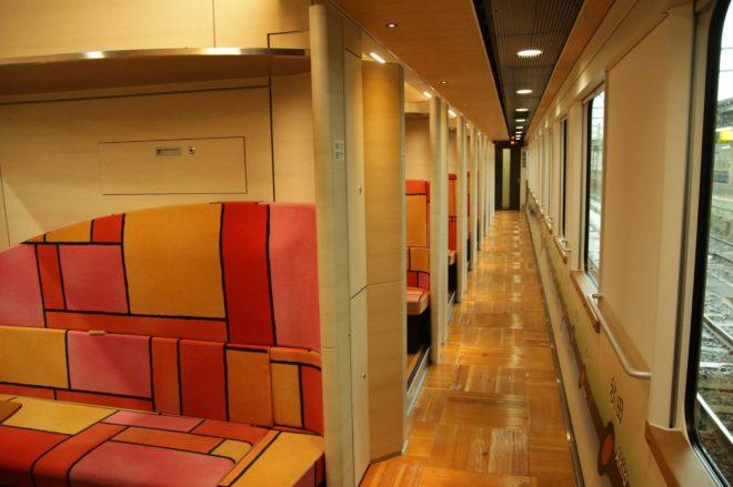 Compartment interior width=