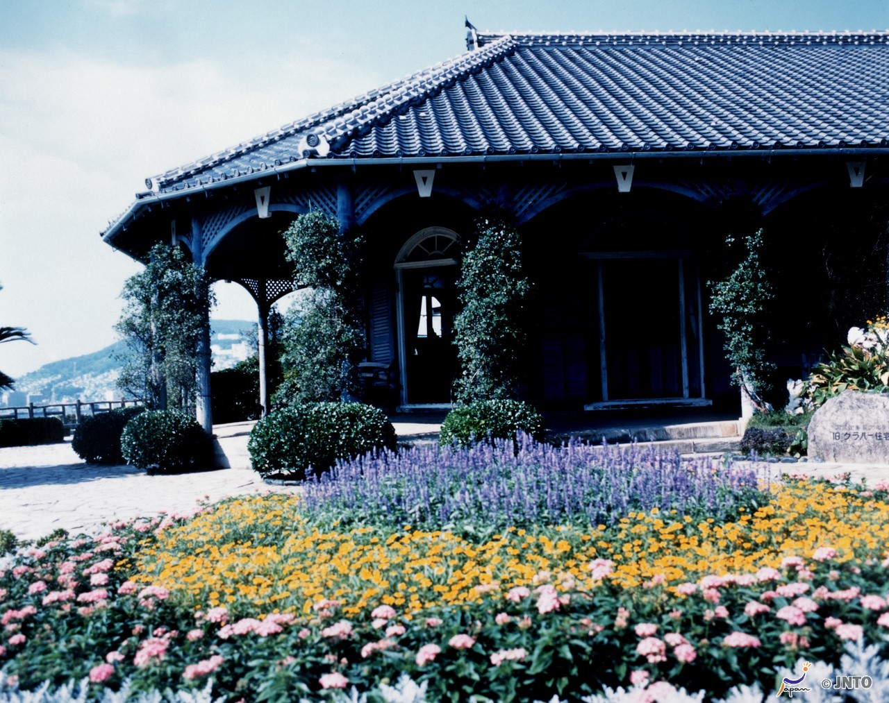 Former Glover Residence is one of the popular spot in Nagasaki. ©Nagasaki City/© JNTO