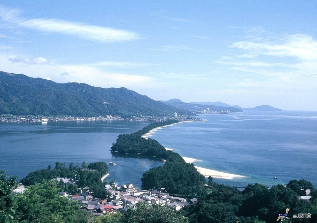 Amanohashidate is one of Three Views of Japan. ©Kyoto Prefecture/© JNTO