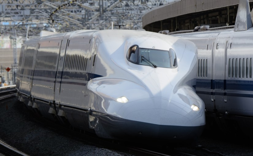 The Tokaido, the Sanyo and the Kyushu Shinkansen (Bullet Train) train ride guide. Most popular train between Tokyo, Nagoya, Kyoto, Osaka, Hiroshima, Hakata and Kagoshima.