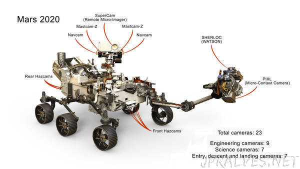 Next Mars Rover Will Have 23 'Eyes' - jpralves.net