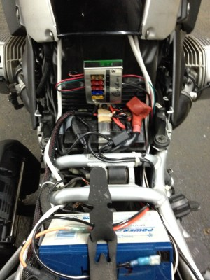 BMW 1200GS Auxiliary Battery and Lighting  jpreardon