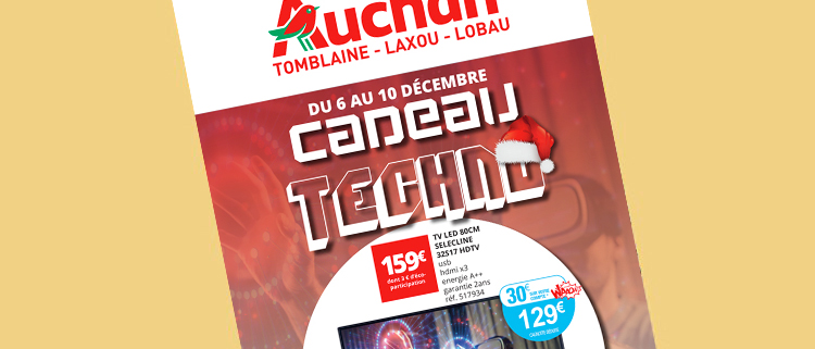 creation supports print auchan