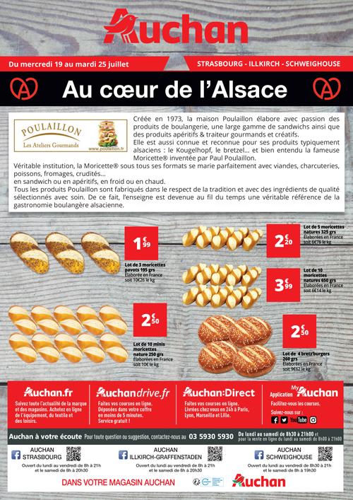 flyer A4 auchan bijoux