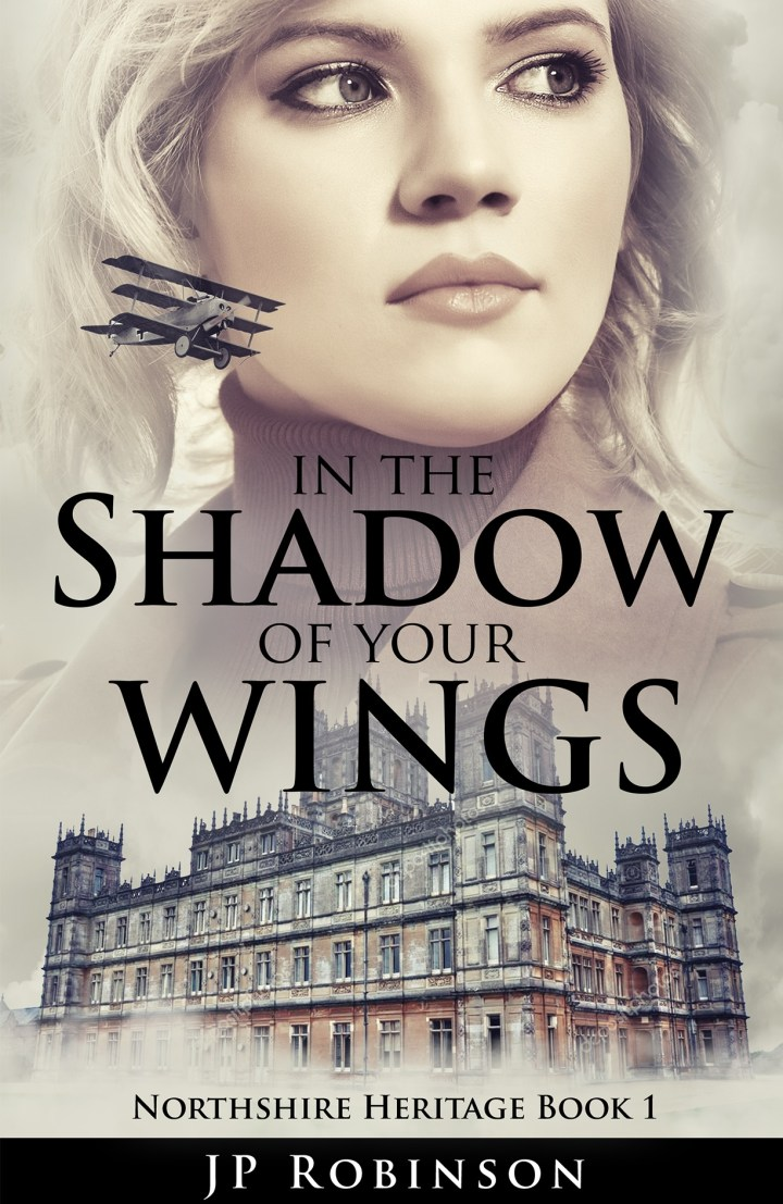 Cover of JP Robinson's masterpiece, In the Shadow of Your Wings