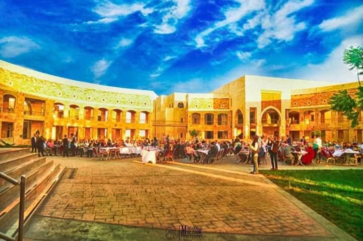 غدا الخميس 18جامعة العلوم والتكنولوجيا تتزين لاستقبال