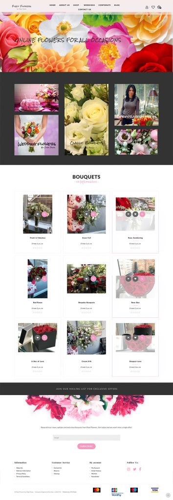 Fleet Flowers Whole Website