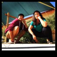 Marcela Courtyard squat