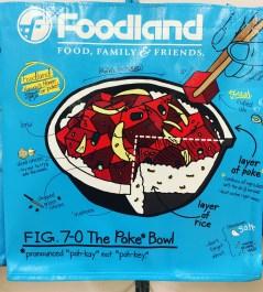 Foodland shopping bag