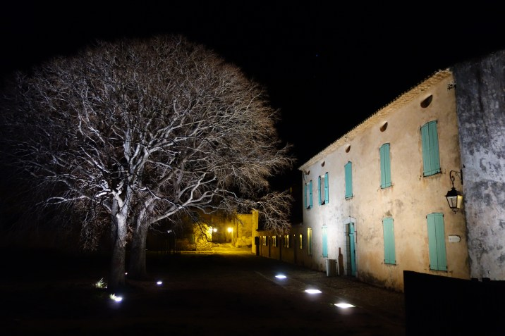 Our accomodation at night (1/2)