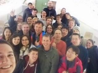 The retreat selfie, courtesy of Derya