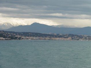 View of Cannes from the ferry (1/2)