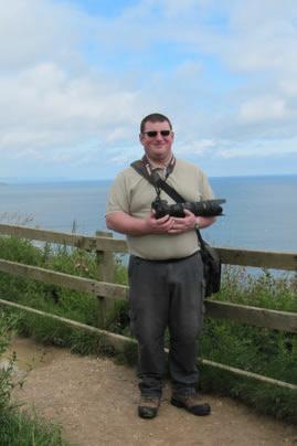 Jez at Bempton Cliffs, Yorkshire Coast