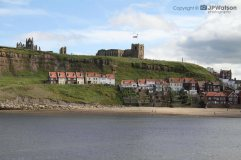 A Distant View Of Whitby Abbey North Yorkshire